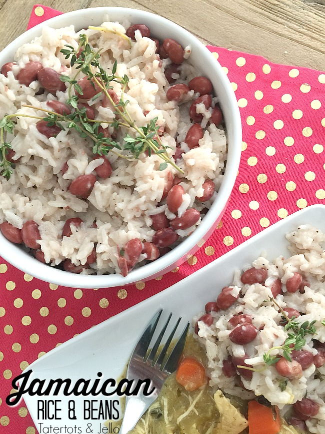 jamaican coconut beans and rice recipe