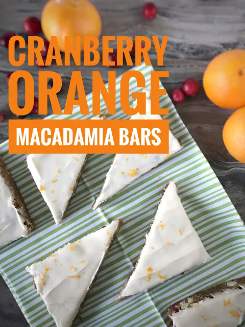 orange cranberry bars