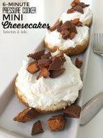 6-Minute Pressure Cooker Mini Cheesecakes