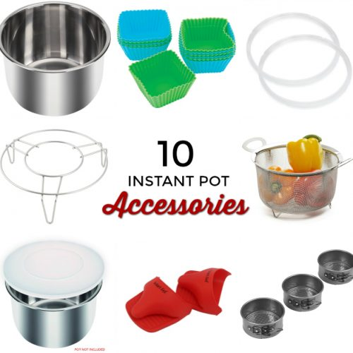 10 Must-Have accessories for your Instant Pot! Find out how to make dinner even easier with these instant pot accessories!