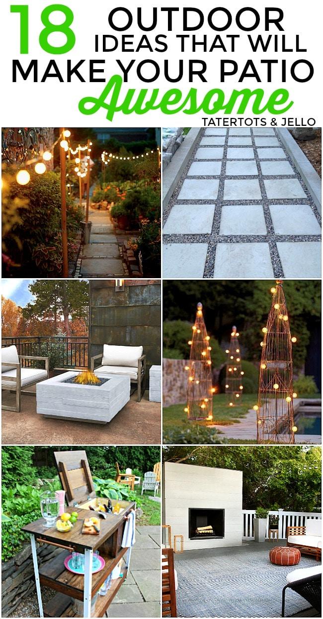 18 patio ideas
