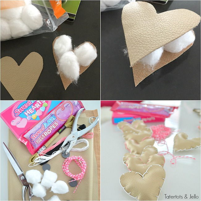 Soft Heart Magnet Gift Idea. Make someone you love a handmade soft heart magnet. It's easy to make and something they can use all year.