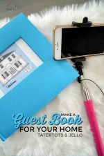 Make a Guest Book for YOUR Home