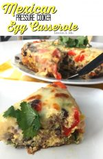 Instant Pot Mexican Egg Casserole