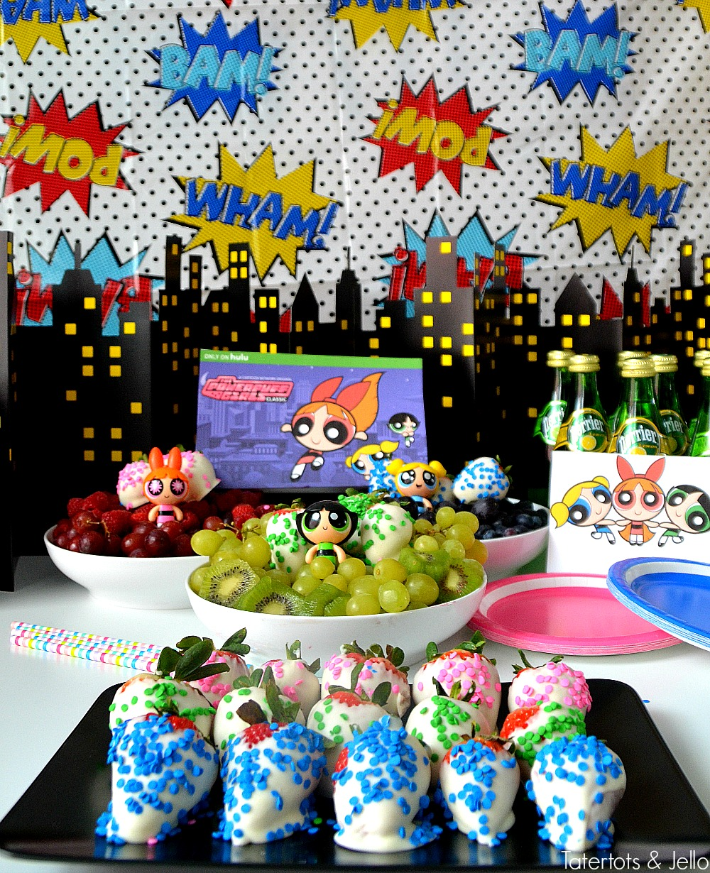 Powerpuff Girls Party Ideas