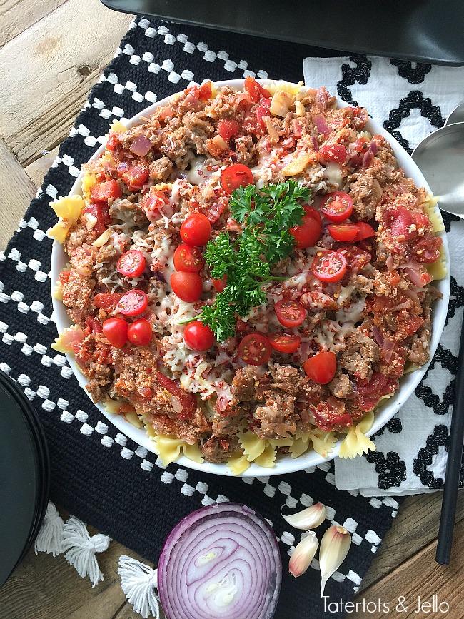 Creamy Italian Sausage Skillet