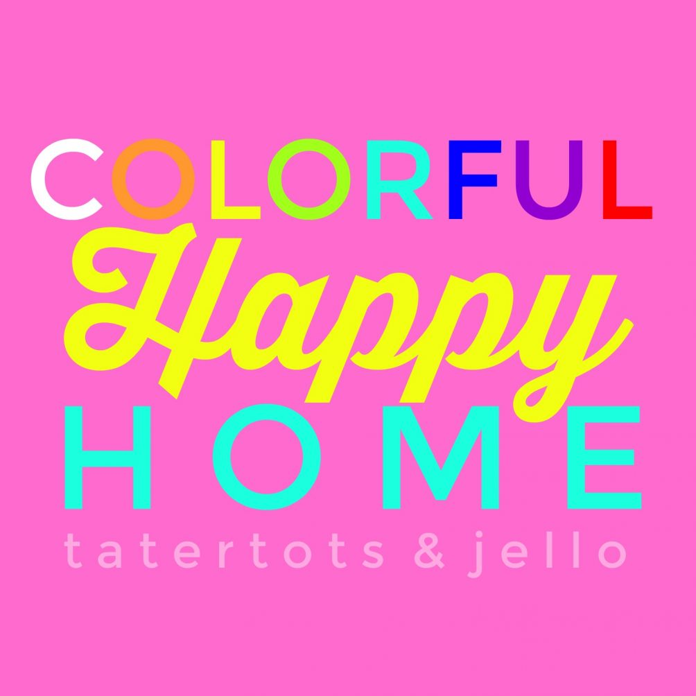 Colorful Happy Home. I'm sharing my love of color through DIY projects in decorating, crafts, recipes and lifestyle to help YOU have a more colorful life!