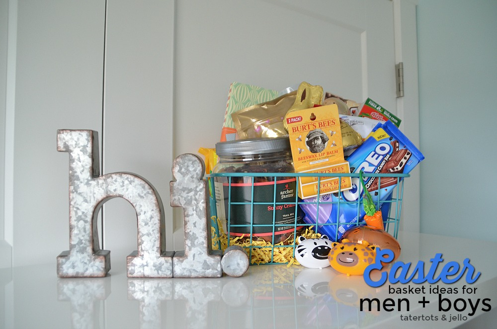 Easter Basket Ideas for Men and Boys. Meaningful Easter filler ideas for the guys in your life. Small but thoughtful easter basket ideas.