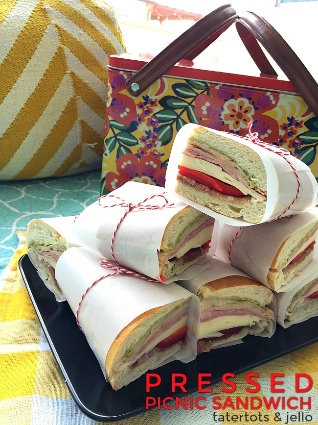 Pressed Picnic Sandwiches. Find out how to make pressed picnic sandwiches and three ways to keep your sandwiches from becoming soggy.
