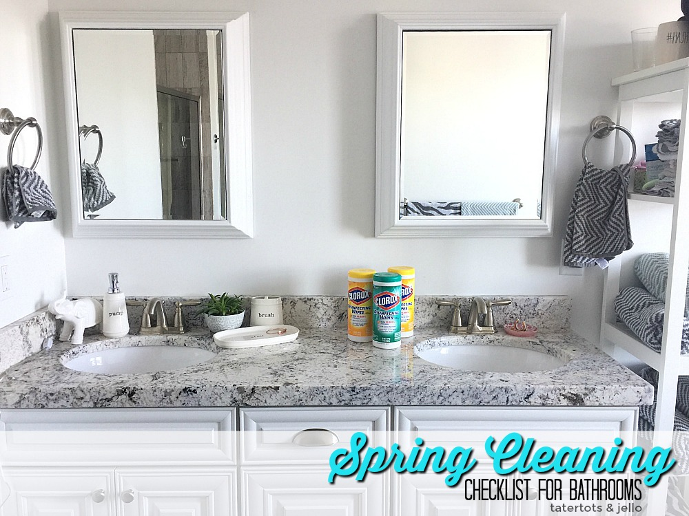 Spring Cleaning Tips for Every Area in your home plus an easy to use printable.