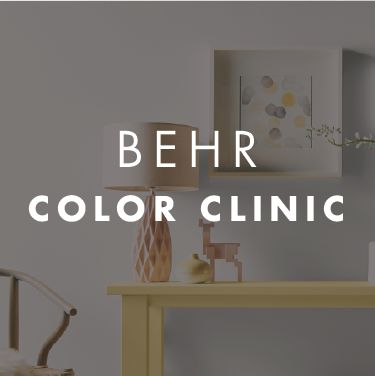 BEHR Color Clinic April 20 and 21st to get helpful advice, tips, and tricks on how to update your home from Sabrina Soto and other design experts. Learn how to pick out modern shades to form a chic color palette that you can use throughout every room in your home. Enter for a chance to win a $10,000 room makeover.