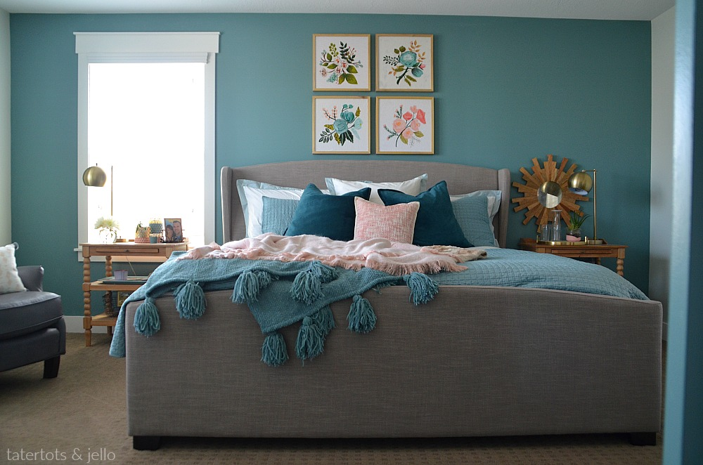 create a luxurious master bedroom with paint. Three painting tips to turn your bedroom into an oasis!