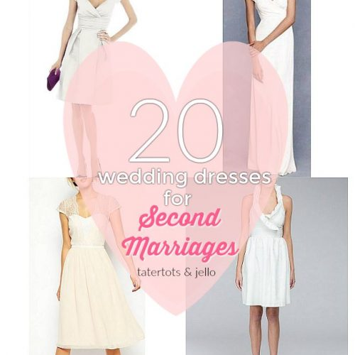 20 wedding dresses for second marriages and courthouse weddings