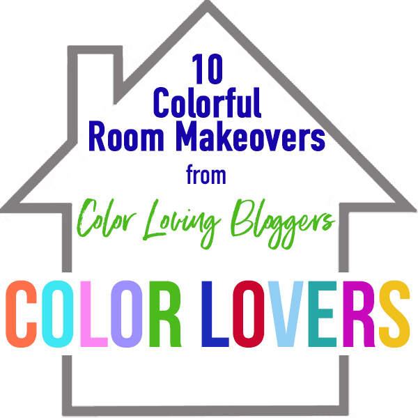 10 colorful room reveals