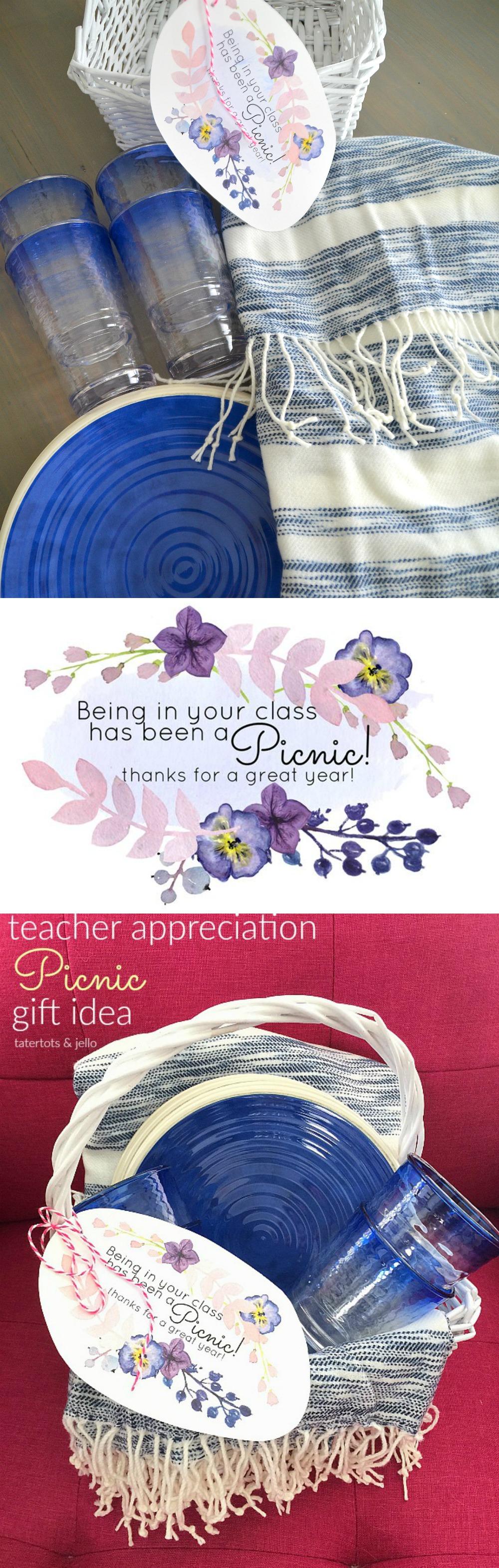 teacher appreciation picnic gift idea