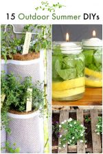 Great Ideas — 15 Outdoor Summer DIYs!