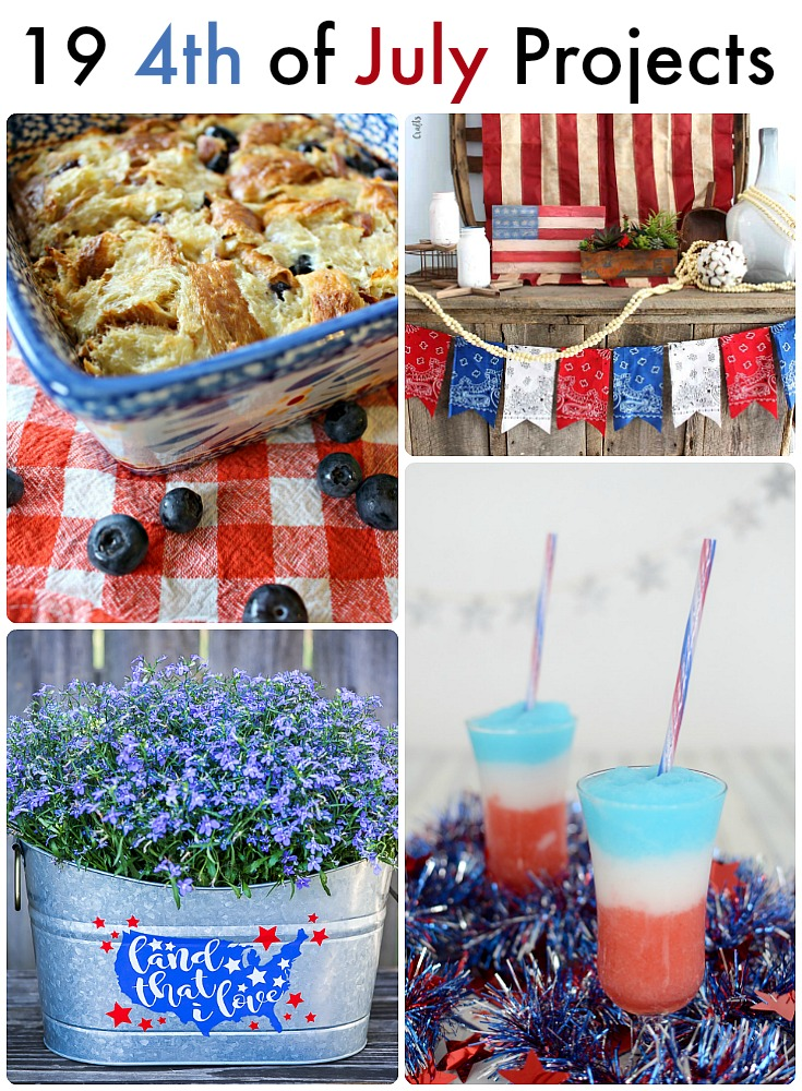 Great Ideas 19 4th Of July Projects