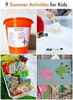 Great Ideas — 9 Summer Activities for Kids!