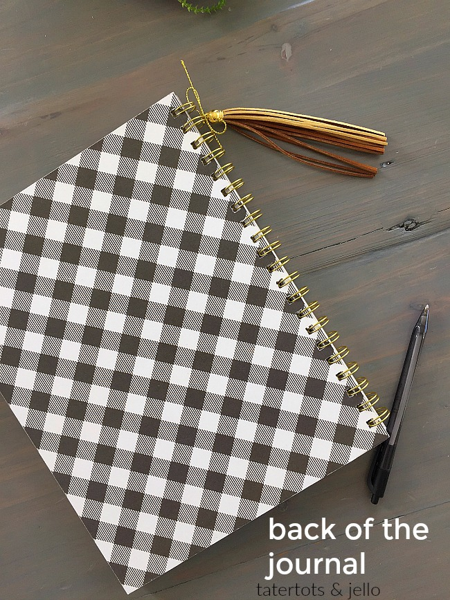 How to make a custom journal with the cinch tool and simple life pebbles line