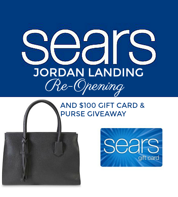 Sears $100 gift card and purse giveaway