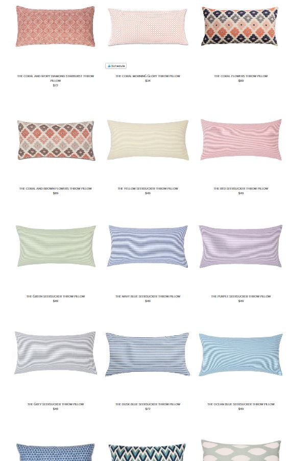 crane and canopy pillows