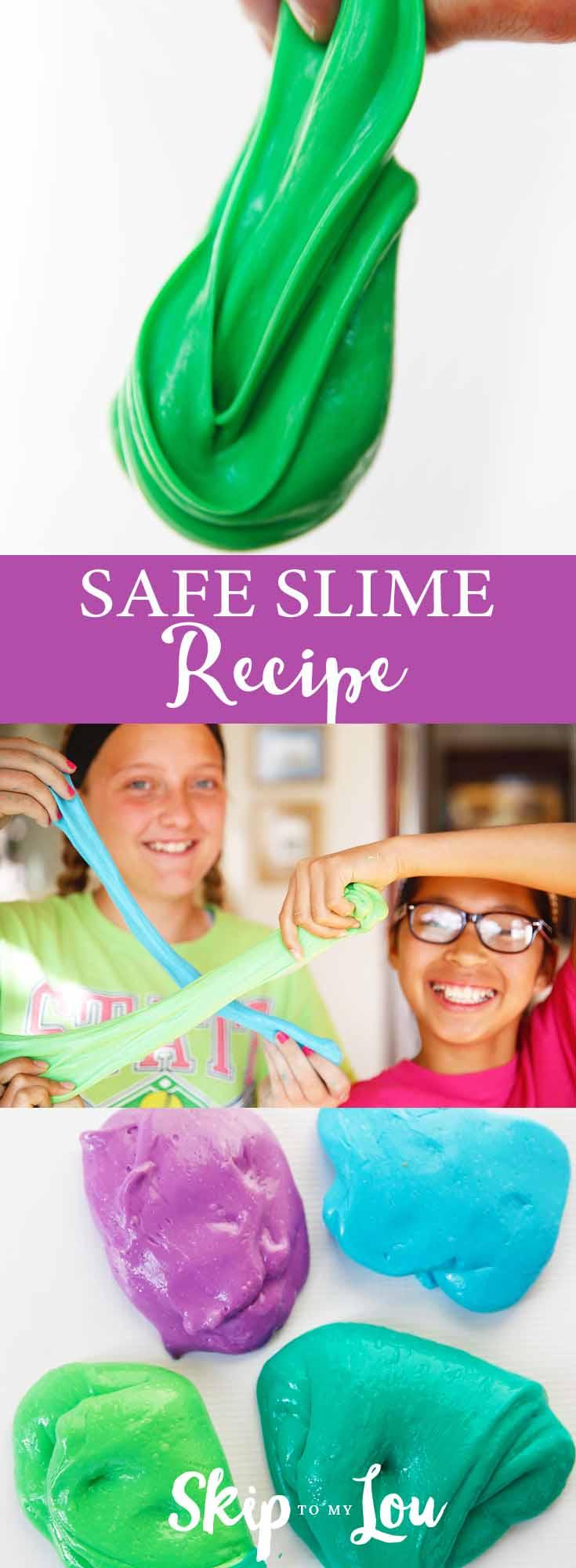 super safe slime recipe
