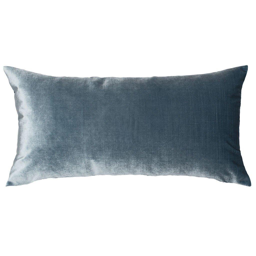 crane & canopy velvet pillow