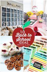 Great Ideas — 10 Back to School Ideas!