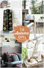 Great Ideas — 16 Autumn DIYs!
