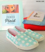 Painted Plaid Shoe Tutorial Based on the new Lost in Oz Animated Series!