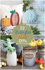 Great Ideas — 22 Colorful Fall DIY Ideas!
