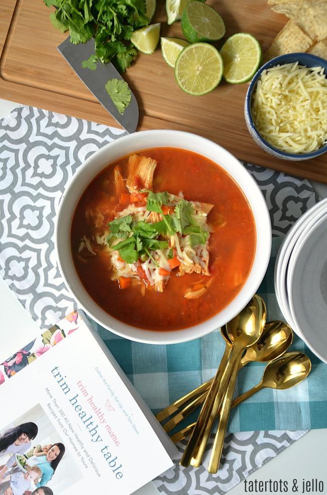 chicken fajita soup recipe trim healthy table