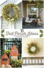 Great Ideas — 11 FESTIVE Fall Porch Ideas!