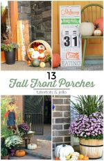 Great Ideas — 13 Festive Fall Front Porches!