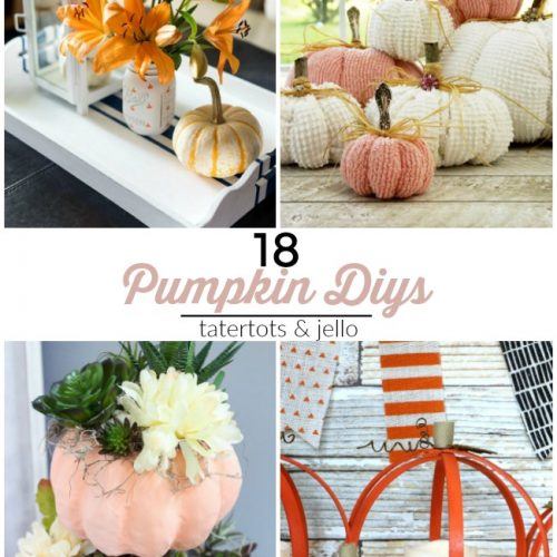 18 AWESOME pumpkins to make for Fall. Get your home festive with these beautiful pumpkins!