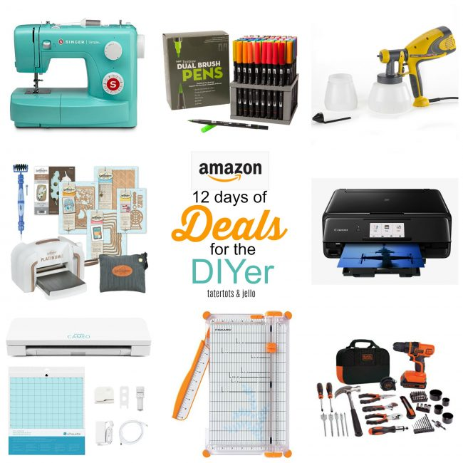 12 days of deals amazon for the DIYer