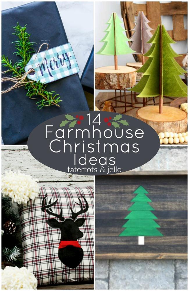 Great Ideas — 14 Farmhouse Christmas Ideas!