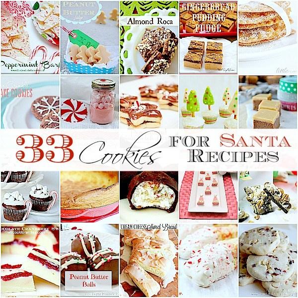 33 cookies for santa
