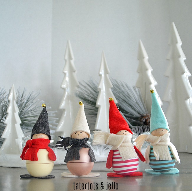 eos holiday gnomes gift idea