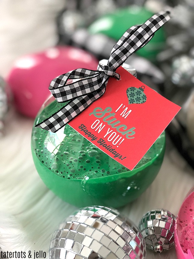 Slime Holiday Ornament Gift Idea For Kids And Tweens