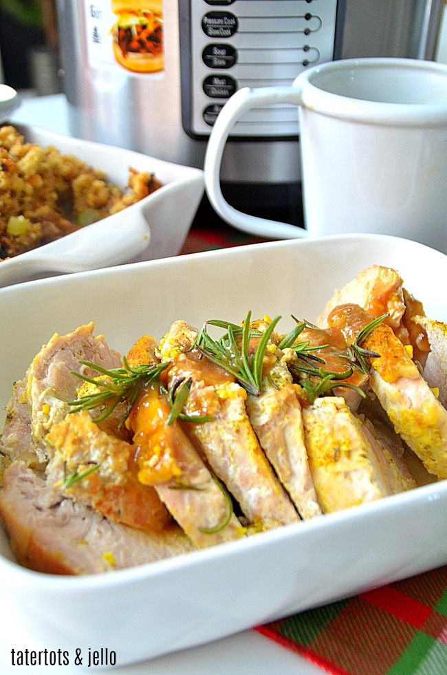 Moist and Flavorful Turkey Breast and Gravy Instant Pot Recipe. Free up space in your oven and use your Instant Pot this Thanksgiving!