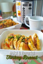Instant Pot Turkey Breast and Gravy Recipe!