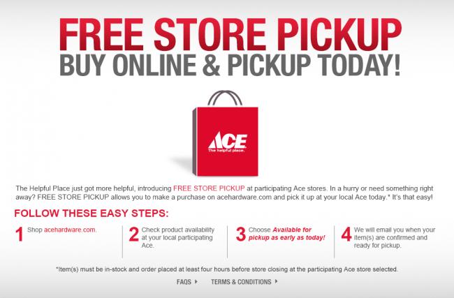 ace red bag offer