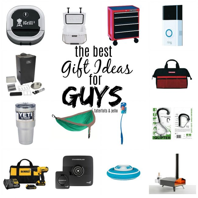 The Best Holiday Gift Ideas for Guys - tons of gifts ANY ...