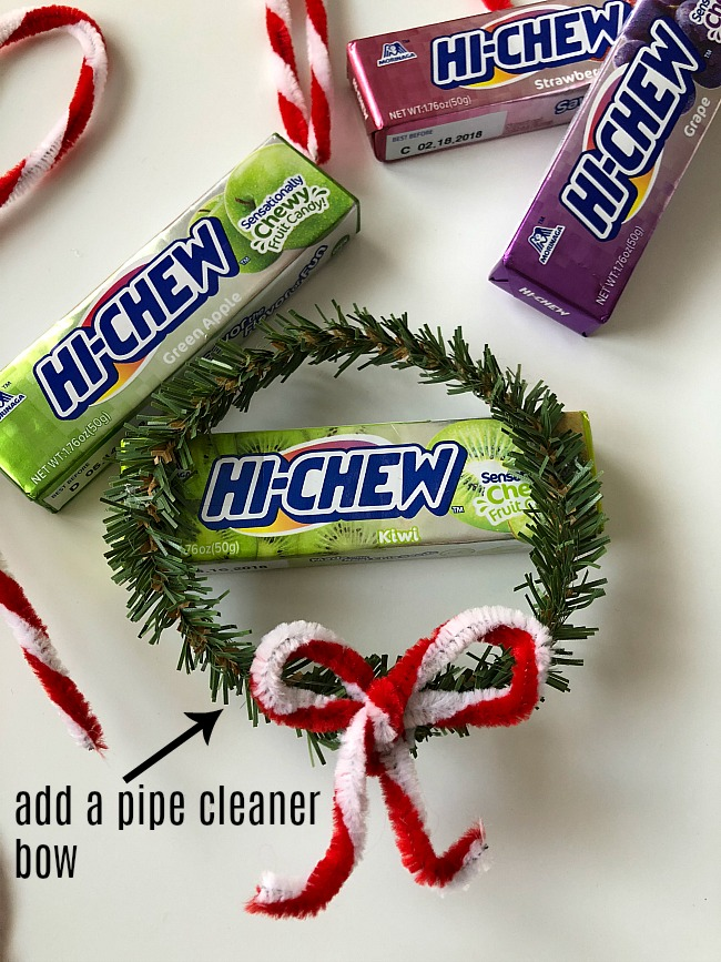 Hi Chew Gift Toppers are a bright and SWEET way to dress up holiday gifts!