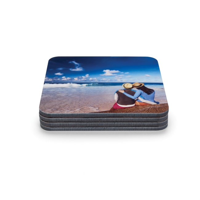 photo coasters ELF