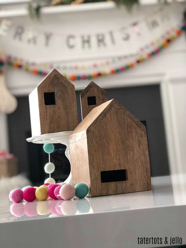 merry pom pom holiday home tour - how to add color and whimsical charm to your holiday home!