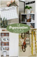 Great Ideas — 14 Organization Ideas!