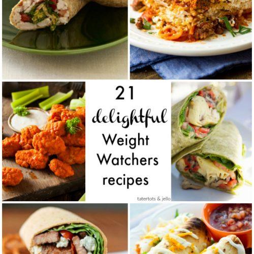 21 delightful weight watcher #recipes