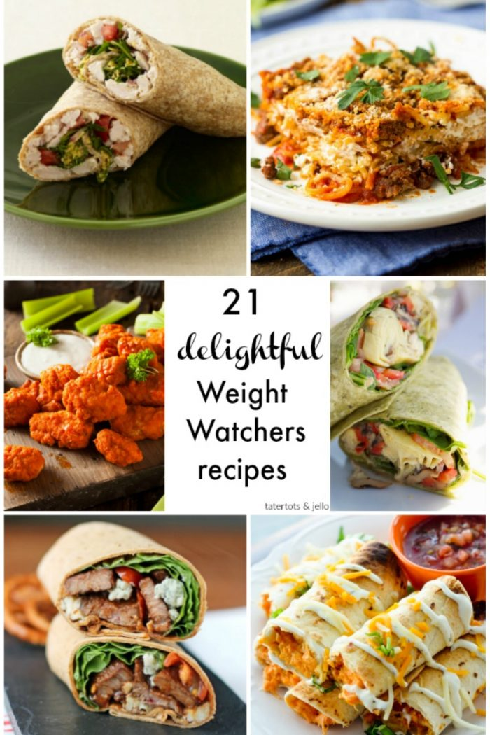 21 Delicious Weight Watchers Recipes!